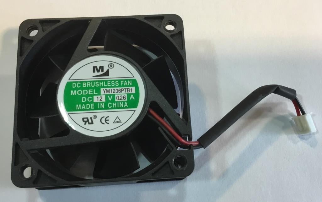 FAN 12VDC 60X60X25MM 29.01CFM