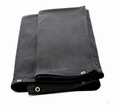 Zwarte doek 3m breed x 4m hoog