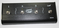 Crate four button footswitch