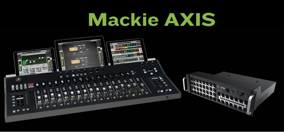 Mackie AXIS system